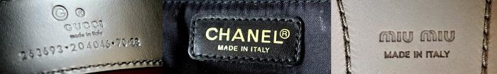 AmicaMako高級ブランドの革アイテムはイタリア製が多いーAmicaMako