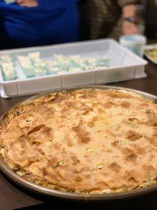 手前がジェノヴァの青菜のパイ il Genovese 提供