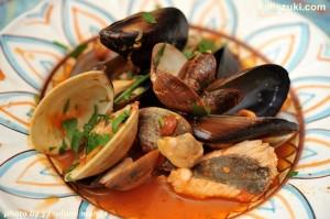 チレント風海の幸のスープ