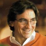 Giorgio with orange pullover
