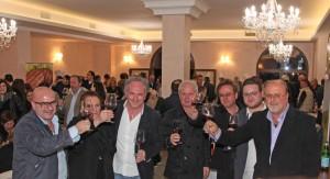 ▲テラーロ兄弟 左からロベルト、ロサルバ、マッシモ、アルドゥーノ、パスクアーレ、甥のドメニコ、ルイージ