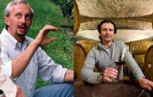 ▲アグロノモのアルベルトグラッソさん(左)、エノロゴのダニーロ・ドロッコさん